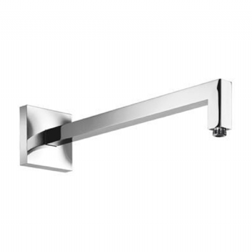 Abacus Temptation Round Square Wall Arm - 420mm Long - Chrome